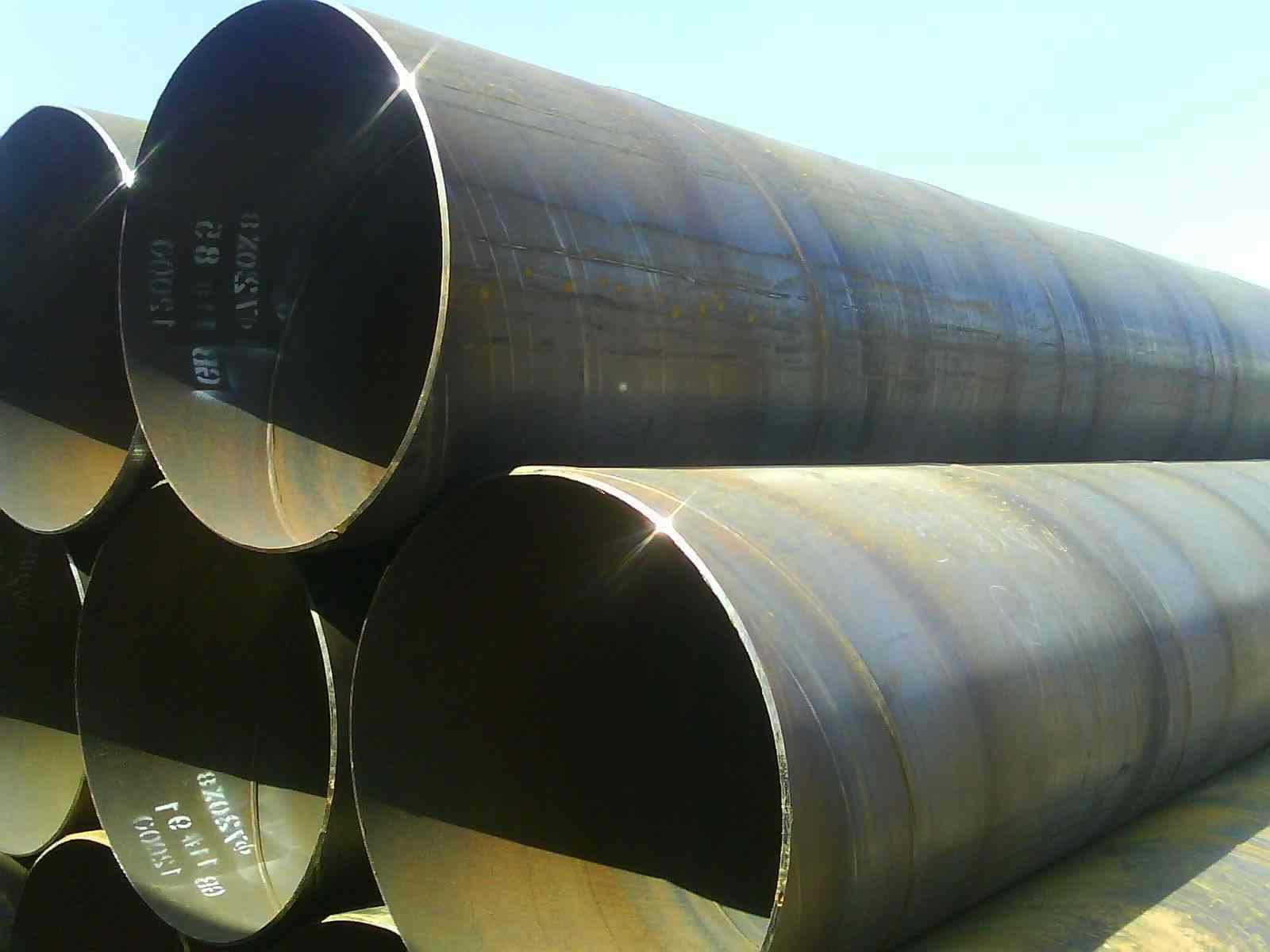 Трубы стальные сварные спиралешовные — ГК Росмет